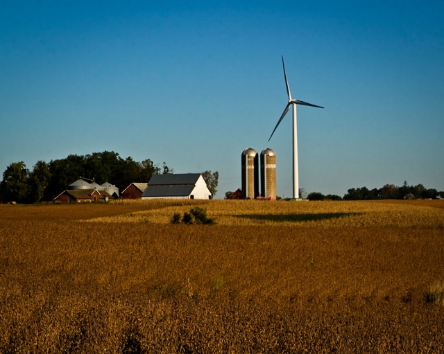 Old Farm, New Windmill