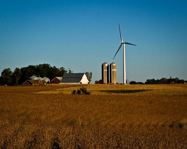 Old Farm, New Windmill | Larry's Blog