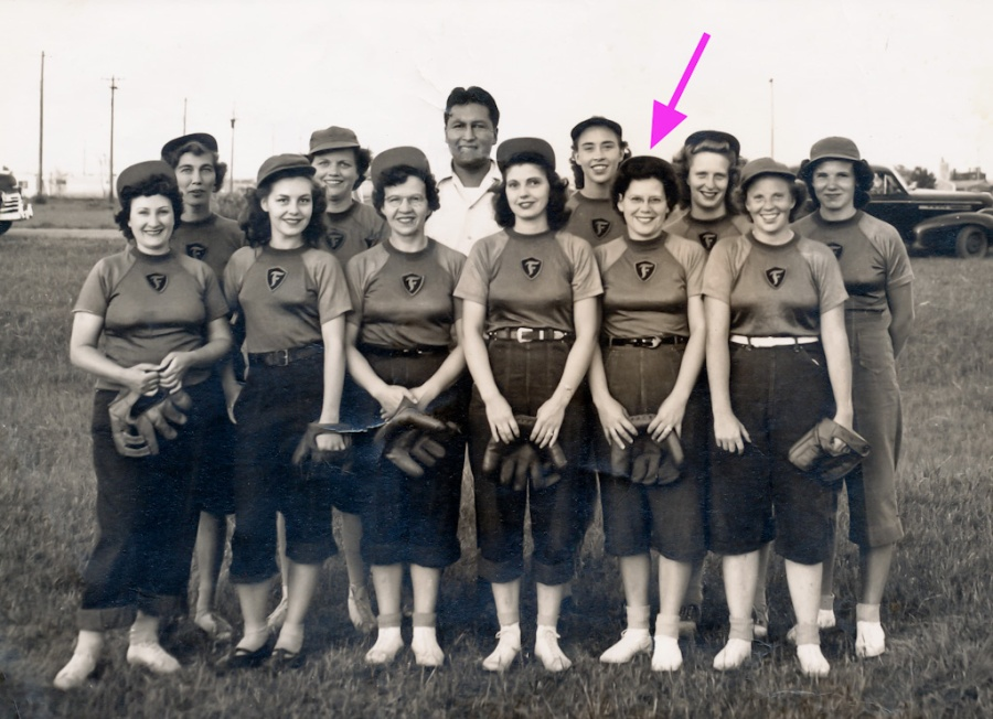 Huskerville Fast-Pitch Softball Team, 1950