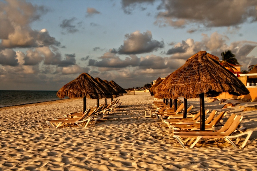 Cancun Morning