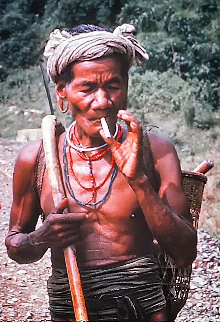 Montagnard tribesman
