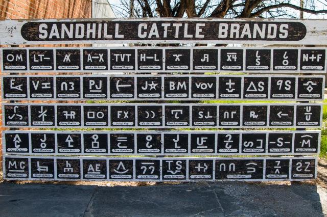 Sandhill Cattle Brands
