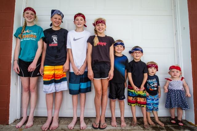 Grandkids - July, 2014