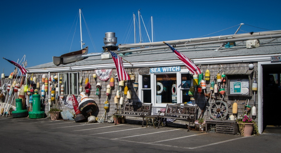 Sesuit Harbor Cafe - Front