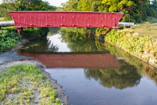 Hogback Covered Bridge - Iowa
