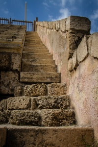 Roman Theater Stairs