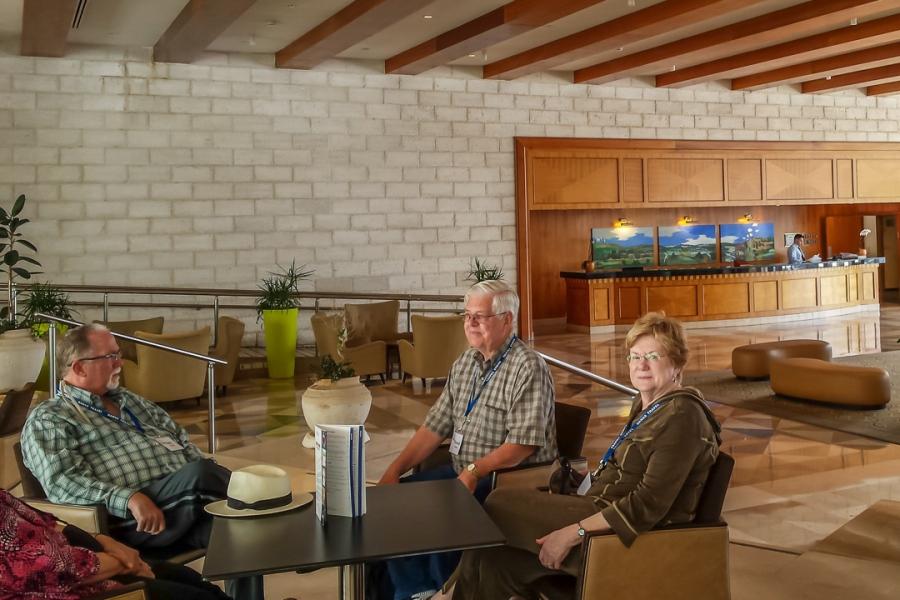 Grand Court Hotel Lobby - Jerusalem