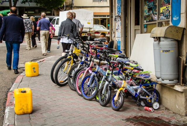 Nazareth, Israel - Bike Shop
