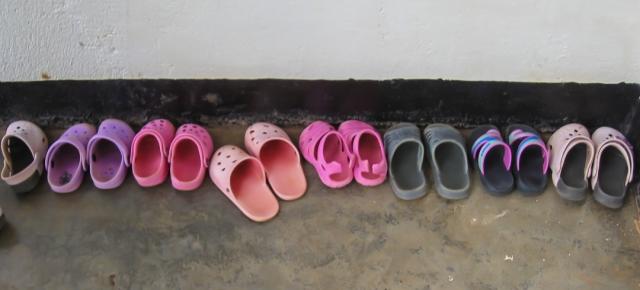 Shoes Left Outside