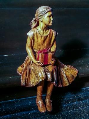 Durham Museum Statue