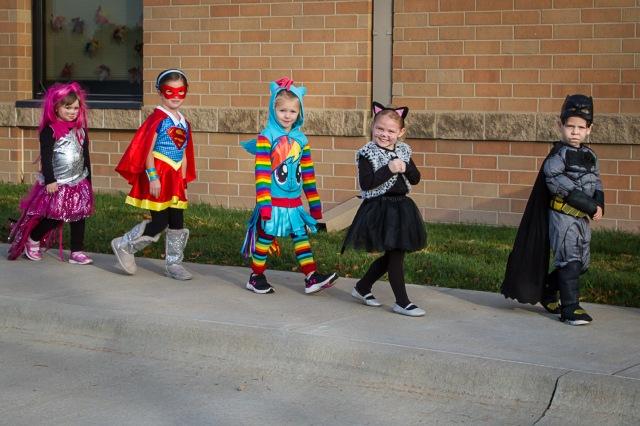 Preschool Halloween Parade